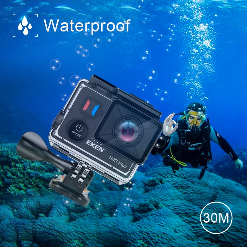 H9R Plus Action Camera Ultra HD 4k/30fps 1080p/60fps
